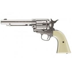 Colt Peacemaker SAA CO2 Revolver, Nickel