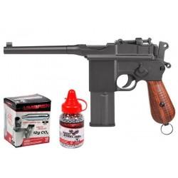 Legends M712 Full-Auto CO2 BB Gun Kit, Full Metal