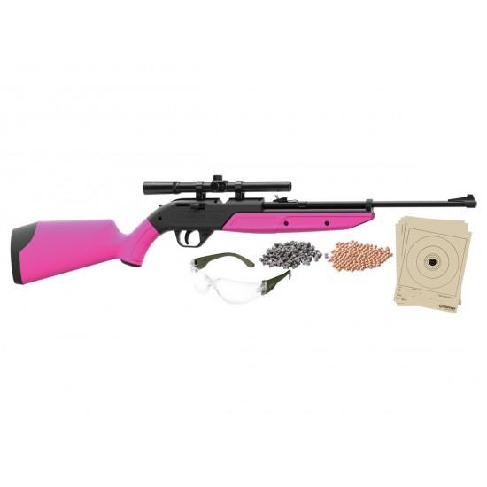Crosman 760 Pumpmaster Kit, Pink Stock