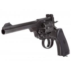 Webley MKVI CO2 Pellet Revolver Battlefield Finish