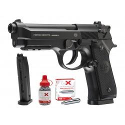 Beretta 92A1 CO2 Full Auto BB Pistol Combo