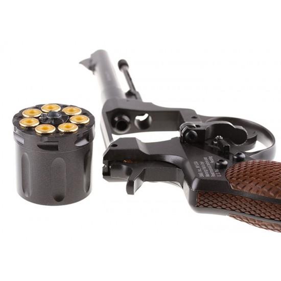 Gletcher NGT F CO2 BB Revolver, Black