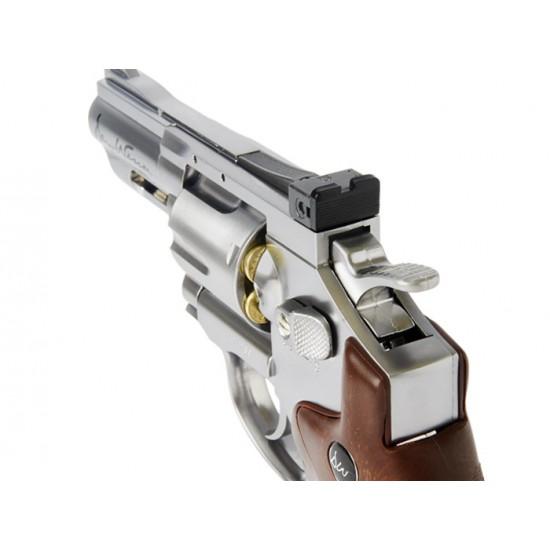 Dan Wesson CO2 BB Dual Ammo, Dual Grip Revolver Kit, 2.5