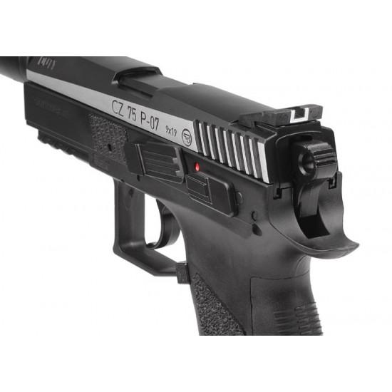CZ 75 P-07 Duty Dual-Tone CO2 BB Pistol Kit