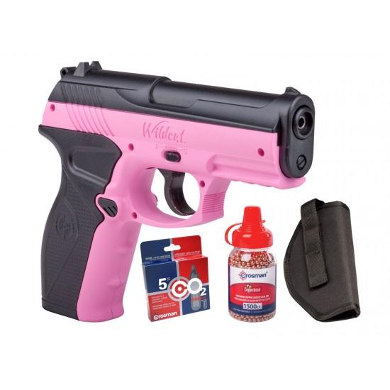 Crosman Wildcat CO2 Pistol BB Kit