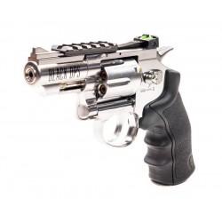 Black Ops Exterminator Metal .177 Revolver, Chrome