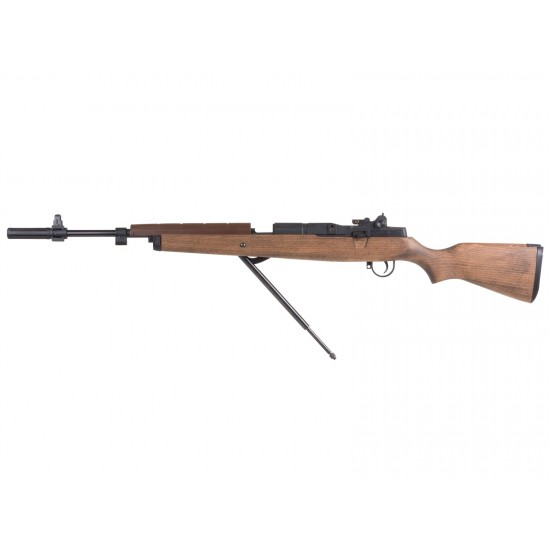 Springfield Armory M1A Underlever Pellet Rifle, Wood Stock