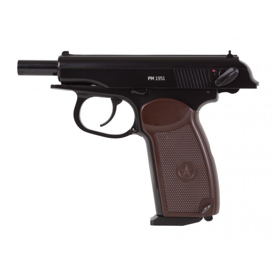 Gletcher PM 1951 .177 CO2 Blowback Metal BB Pistol