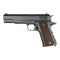 Tanfoglio Witness 1911 CO2 BB Pistol, Brown Grips
