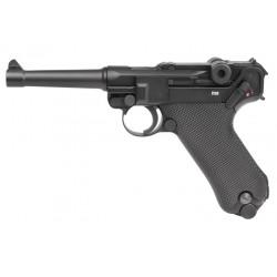 Umarex Legends Blowback P08 CO2 Pistol, Full Metal