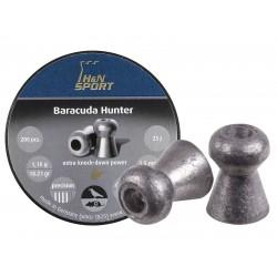 H&N Baracuda Hunter, .22 Cal, 18.21 Grains, Hollowpoint, 200ct