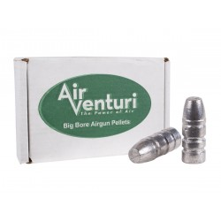 Air Venturi .257 Caliber 87 gr. Flat Point, 100 ct
