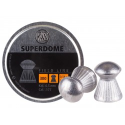 RWS Superdome .177 Cal, 8.3 Grains, Domed, 300ct