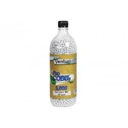 Air Venturi Pro CQBBs 6mm biodegradable airsoft BBs, 0.20g, 5000 rds, white