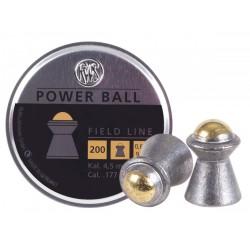 RWS Power Ball Field Line .177 Cal, 9.4 Grains, 200ct
