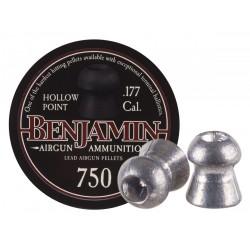 Benjamin .177 Cal, 7.9 Grains, Hollowpoint, 750ct