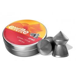 H&N Excite Spike Pellets, .177 Cal, 8.64 Grains, Pointed, 400ct
