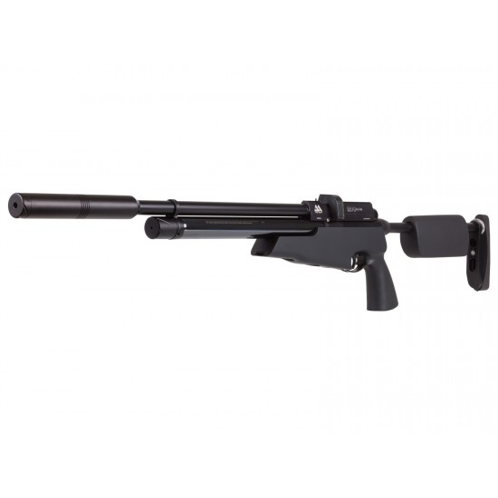 Air Arms S510 XS TDR Tactical, Regulated, Black Soft Touch