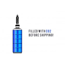 AirForce CO2 Adapter with Filled 20-oz. CO2 Tank,  Fits Condor, Talon & Talon SS