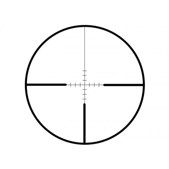 CenterPoint AR22 Series 4x32 Duplex Reticle Rifle Scope, 3/8
