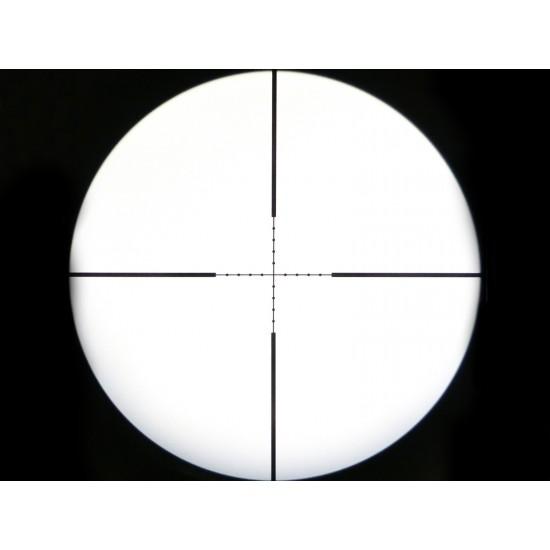 Mantis 3-9x40 AO Rifle Scope, Mil-Dot Reticle, 1/4 MOA, 1