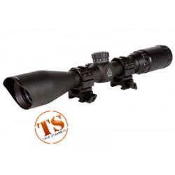 UTG 3-9x40 TF2+ Rifle Scope, Mil-Dot Reticle, 1/4 MOA, 1