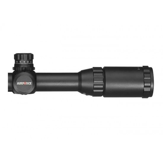 AirForce Airguns 3-9x50 AO Rifle Scope, Ill. Mil-Dot Reticle, 1/4 MOA, 1