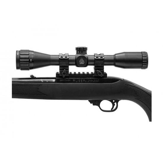 Leapers UTG 4x32 AO True Hunter Rifle Scope, Mil-Dot Reticle, 1/4 MOA, 1