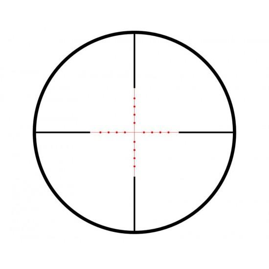 Hawke Sport Optics Vantage 3-9x40 AO Rifle Scope, Ill. Mil-Dot Center Reticle, 1/4 MOA, 1