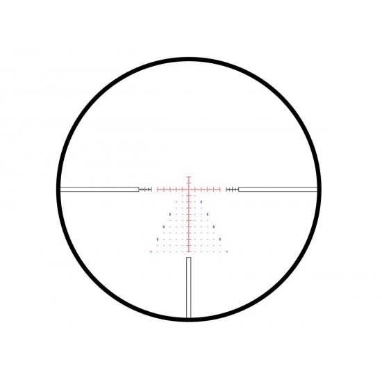Hawke Frontier 30 3-15x50 FFP IR Rifle Scope, Mil Pro Reticle, 1/10 MRAD, 30mm Tube
