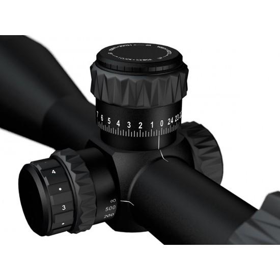 Meopta Optika6 3-18x50 FFP Rifle Scope, Illuminated MRAD (Mil/Mil), 30mm Tube