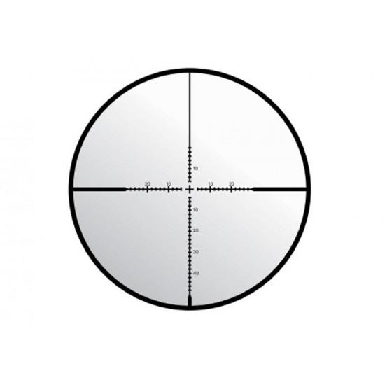 UTG 4-16x44 AO OP3 Compact Scope UMOA Reticle 1/4 MOA 30mm, MaxStrength Picatinny/Weaver Rings