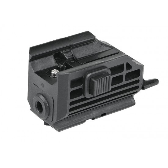 ASG Universal Laser, Integral Weaver Mount + Rail for Accessories