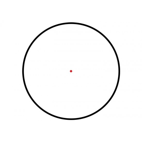 1x26mm ITA Red-Green Dot Sight, 4 MOA Dot, 30mm Tube, Quick-Detach Low Picatinny Mount & Riser