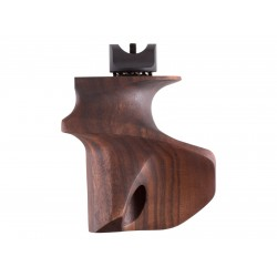 Anschutz ONE-Grip, Right-Hand, Walnut, Large, Fits 9015 Premium Target Air Rifle