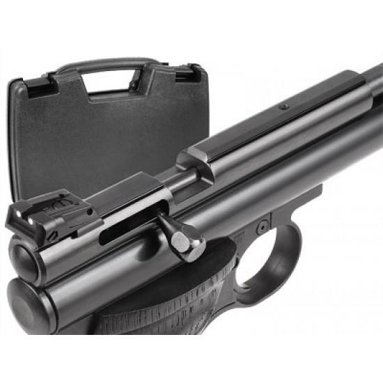 Crosman .22 Cal Steel Breech Kit & LPA Rear Sight + Case
