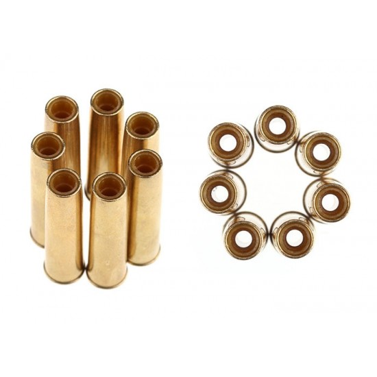 Gletcher Shells, fit Nagant Revolvers, for Steel BBs, 7ct