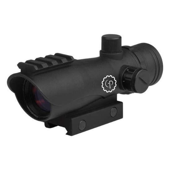 CenterPoint 1x30mm Large Battle  Enclosed Reflex Sight, 3 MOA Red Dot, Picatinny Mounts